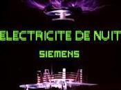 Siemens fabrik electricite nuit