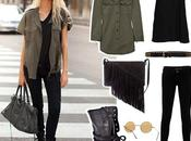 Marchando dos, tres, Military Chic