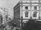 Regencia instala palacio Aduana, CÁDIZ Benito Pérez Galdós