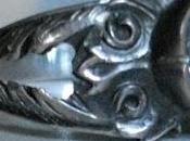 anillo plata tallado buril