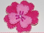 Broche Flower Power Rosa