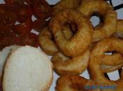 Anillas calamar empanadas