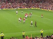 Ganó United ante mirada Bolt