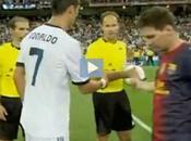 Cristiano Messi evitaron darse mano