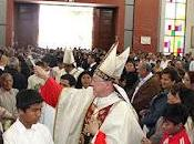 Cardenal cipriani bendice iglesia parroquial pisco