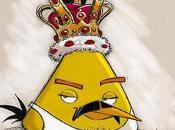 Freddie Mercury convierte Angry Bird motivo cumpleaños