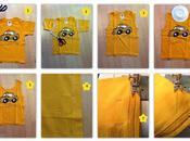 Como convertir camiseta bolsa para merienda peques