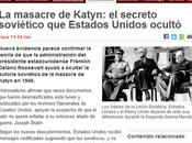 ¿sabían norteamericanos soviéticos eran verdaderos autores masacre katyn?