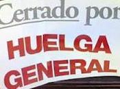 Cerrado huelga general