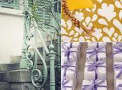 Colour Board #42. Lila, púrpura, mostaza, menta