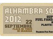Horarios Alhambra Sound Festival 2012