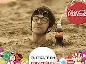 Chapas anuncio Coca Cola Experience Carlos Jean