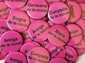 Chapas personalizadas despedida soltera catalán