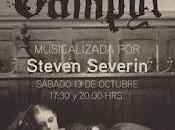 BandaSonoras: Cine mudo ritmo rock presenta Steven Severin musicalizando vivo Vampyr