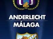 Málaga prepara partido ante Anderlecht belga