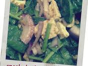 ensalada espinacas spinach salad