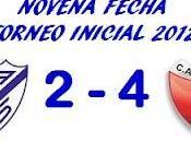 Vélez Sarsfield:2 Colón:4 (Fecha