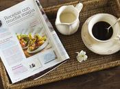 cocina mágica revista Cocina Diez Octubre!! cake integral calabacín manzana para celebrarlo todos