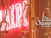 Rita Champagne: pizza Margherita copa champagne