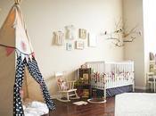 Habitación bebé beige