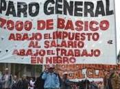 Plaza dejó planteada huelga general