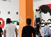 Pixel original divertida opción para decorar paredes