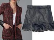 otra famosa falda cuero Zara