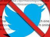 Twitter censura primera cuenta