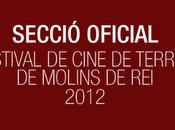 Festival Cine Terror Molins 2012 Sección Oficial completa
