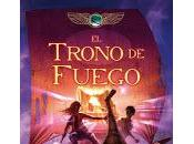 trono Fuego Rick Riordan