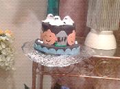 Tarta Halloween 2.(negro)