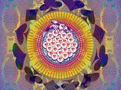 John Coulthart Calendario psicodélico Alicia país maravillas