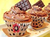 Cupcakes dulce leche chocolate decoraciones)