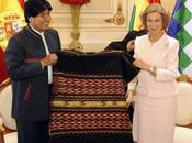 """Durante cena Palacio Gobierno Morales revela reina Sofía dijo: """"Ahora ustedes ricos, nosotros pobres"""""""