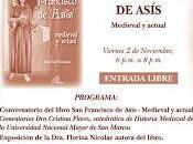 Atrio Paulino: Viernes, noviembre, 6:00 FRANCISCO ASÍS, MEDIEVAL ACTUAL