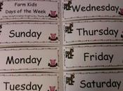 Inglés para niños: días semana