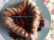 Bundt cake frutos rojos. mixed berry bundt