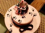 Pink Panther Cake, cumpleaños rosa