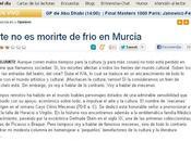 Pedro Pujante escribe sobre cultura Región Murcia