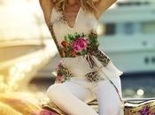 Campaña Roberto Cavalli para Target Australia Karolina Kurkova.