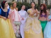 Princesa Leia está aprendiendo princesas Disney #Video #Humor