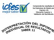 Icfes interpretación informe individual resultados