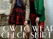 Wear Check Skirt