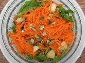 Ensalada zanahoria maní