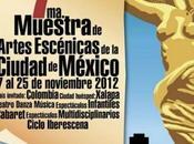 Muestra Artes Escénicas Ciudad México noviembre
