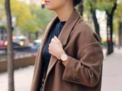 Tweed Skirt Camel Coat