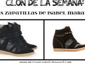 CLON SEMANA: zapatillas ISABEL MARANT BLANCO!