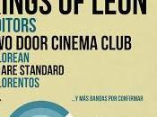 Live 2013: Kings Leon Editors confirmados