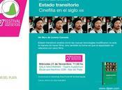 Festival Plata: presentación libro Estado Transitorio Cinefilia