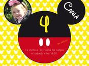 Fiesta cumpleaños Mickey Mouse